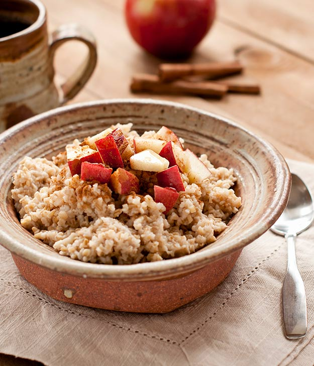 One Week Plan: Apple Almond Oatmeal