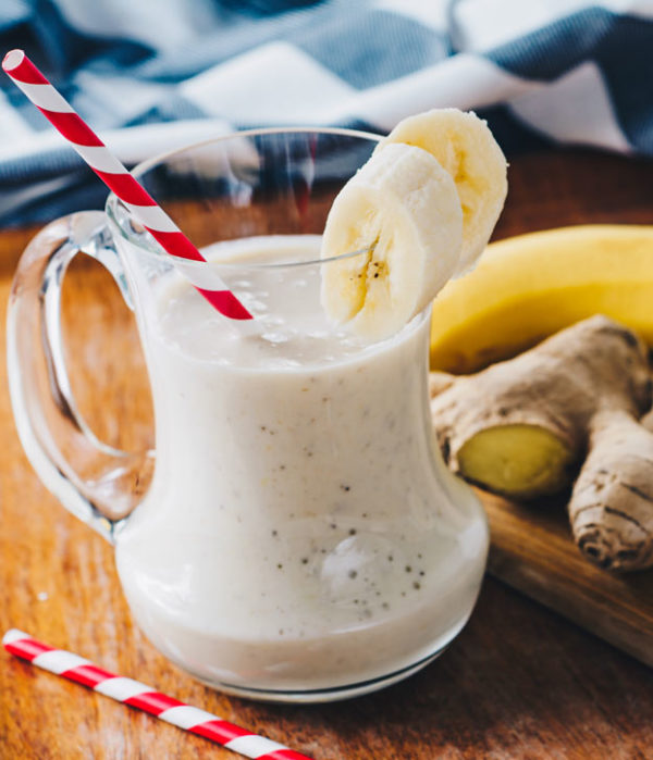 One Week Plan: Banana Ginger Smoothie
