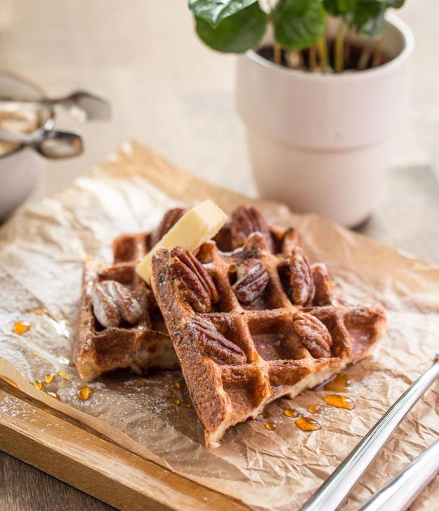 One Week Plan: Breakfast Waffles