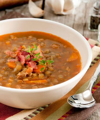 One Week Plan: Carrot Lentil Soup