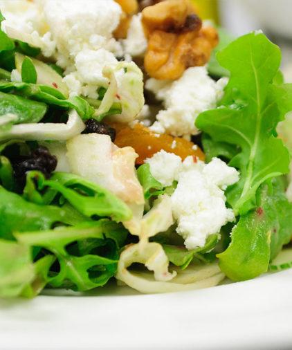 One Week Plan: Goat Cheese Salad