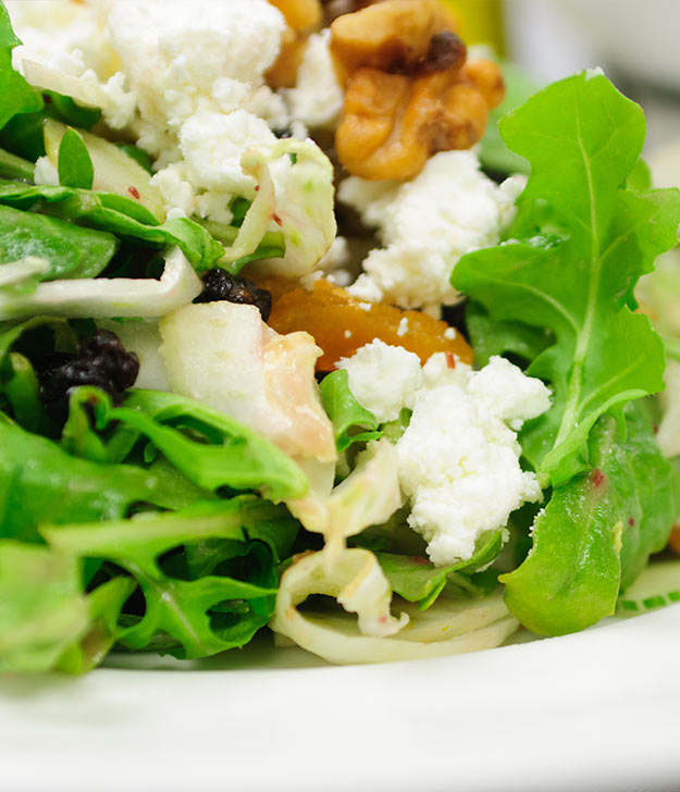One Week Plan: Goat Cheese Salad