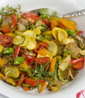 One Week Plan: Herb Roasted Vegetables