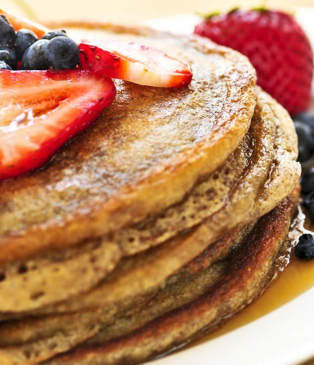 One Week Plan: Multi-Grain Pancakes
