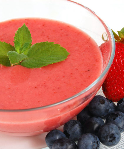 One Week Plan: Strawberry Oatmeal Smoothie