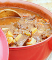 One Week Plan: Vegetable Venison Stew