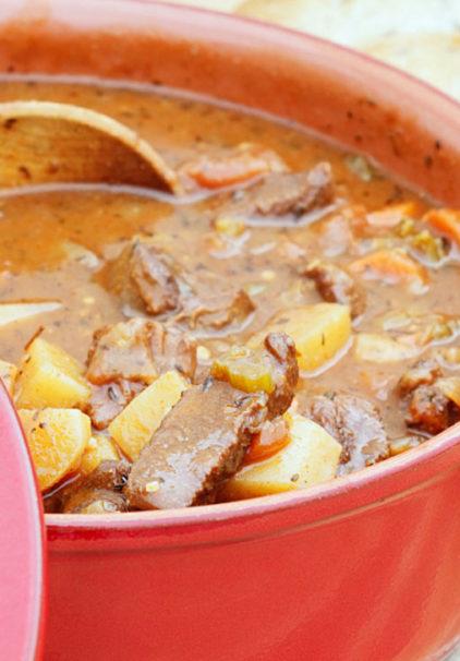 One Week Plan: Vegetable Venison Stew