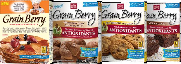 Grain Berry pancake and baking mixes